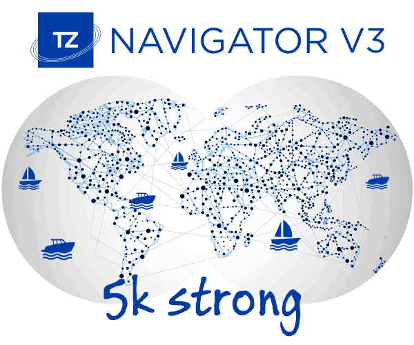 TZ Navigator has grown to 5 thousand strong