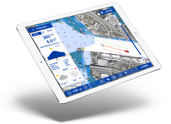 TZ iBoat - the best marine navigation app
