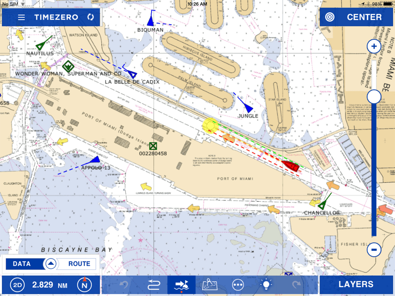 Tz Iboat Timezero Ipad App B Boat Running Lights Wiring Diagram Free Picture Ais Module This Allows You To Monitor Maritime Traffic In Your Navigation Area It Will Increase Safety By Displaying All Targets On