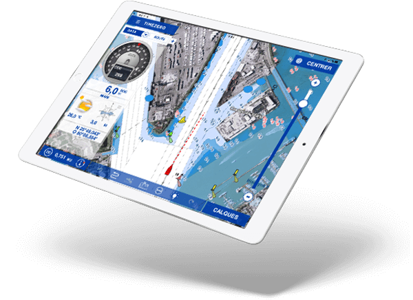 TZ iBoat l'application de navigation côtière
